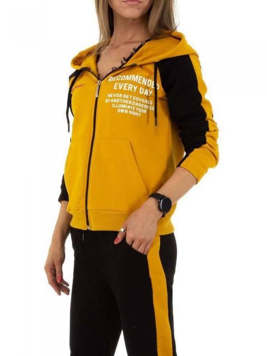 Sportinis kostiumas geltonas