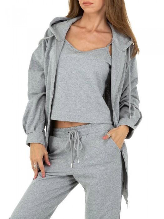 Sportinis kostiumas pilkas, 3 dalių