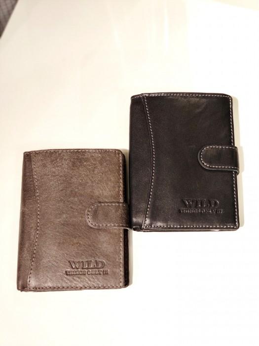 Piniginė odinė juoda