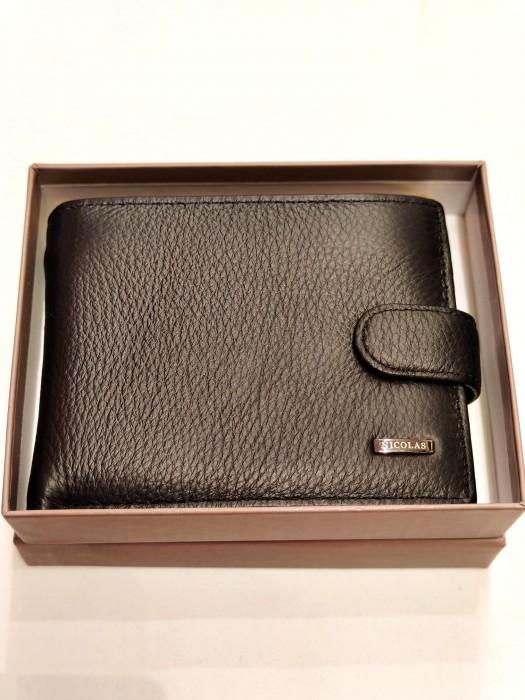 Piniginė odinė dėžutėje didesnė