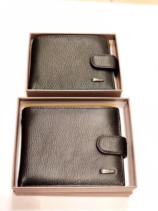 Piniginė odinė dėžutėje mažesnė