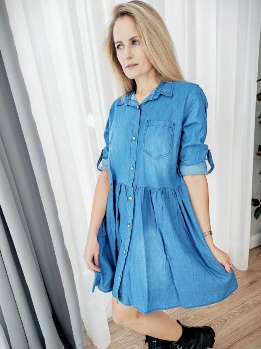 Suknelė džinsinė