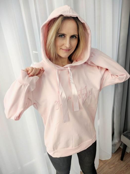 Džemperis Glam Style rožinis