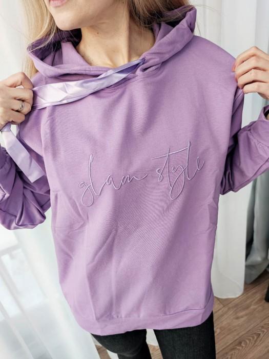 Džemperis Glam Style alyvinis