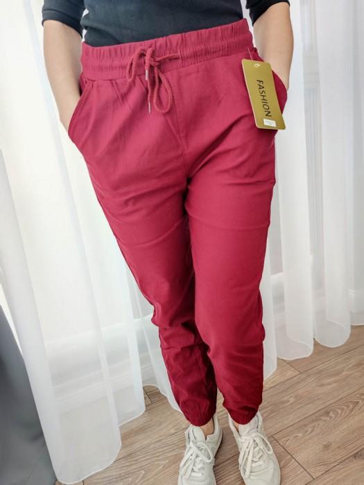 Kelnės su raišteliu raudonos