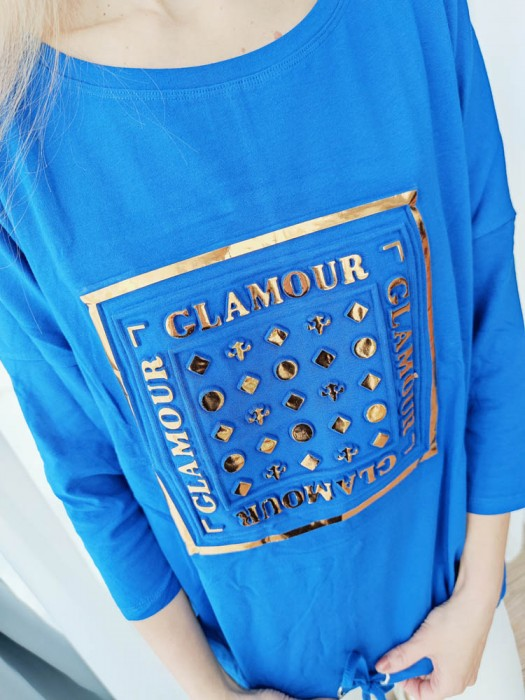 Palaidinė Glamour mėlyna
