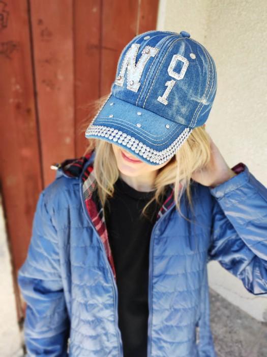 Džinsinė kepurė No 1