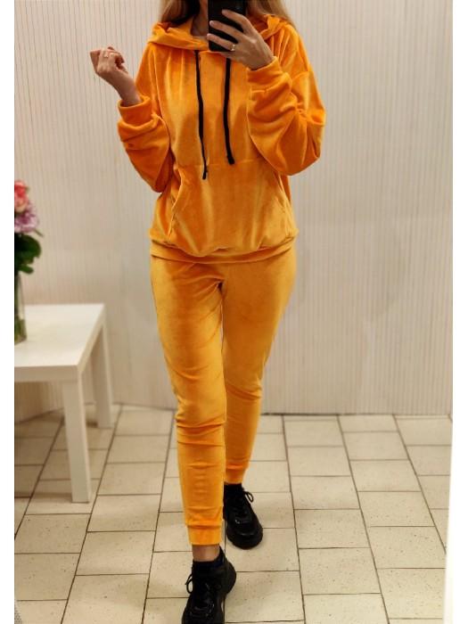 Laisvalaikio kostiumas apelsinų spalvos