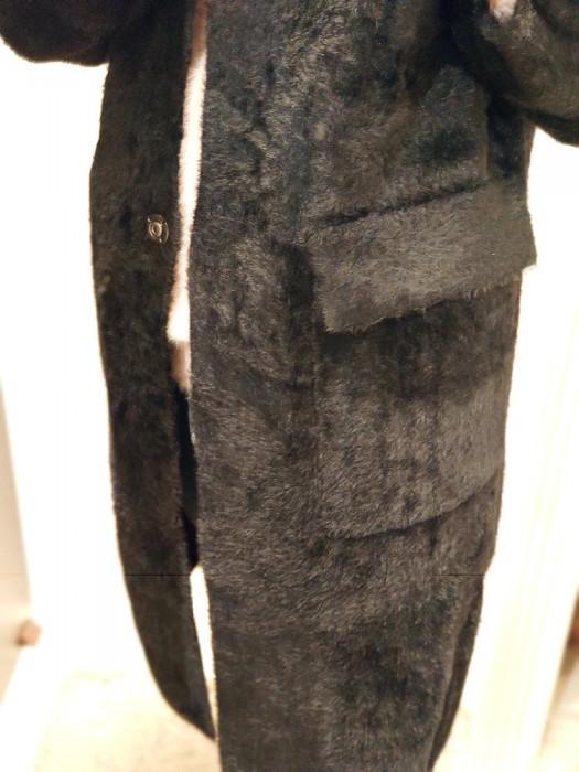 Paltukas minkštas juodas
