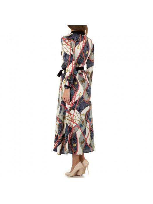 Suknelė su sagomis ilga