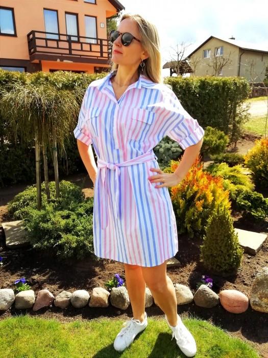 Suknelė - tunika marškinių tipo